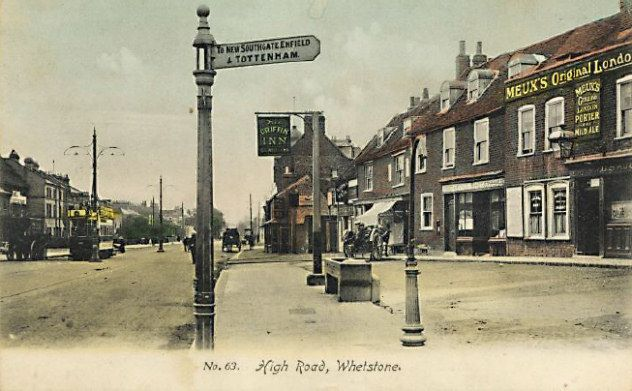 High Rd Whetstone Postcard